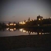 Photo taken at Пляж «Северный» by Сергей С. on 10/22/2012