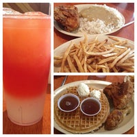 Photo taken at Roscoe's House of Chicken and Waffles by Marleaux N. on 2/11/2013