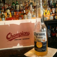 Photo taken at Champions Restaurant & Sports Bar by Basil P. on 3/7/2013