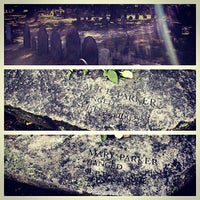 Photo taken at Salem Witch Trials Memorial by Nic A. on 9/24/2012