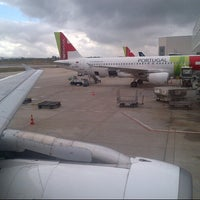 Photo taken at TP448 / TAP Portugal by Alx V. on 6/8/2013
