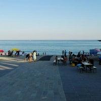 Photo taken at Spiaggia delle Fornaci by Simone P. on 7/9/2016