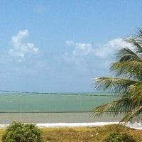 Photo taken at Praia Azul by Laíssa M. on 10/12/2012