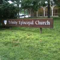 Photo taken at Trinity Episcopal Church by Harriet Alison N. on 6/2/2013