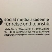 Photo taken at Social Media Akademie für Reise und Touristik by Maike O. on 7/31/2013