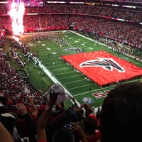 Photo taken at Georgia Dome by Kenyata M. on 1/21/2013
