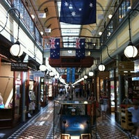 Photo taken at Adelaide Arcade by Lynn A. on 1/21/2013