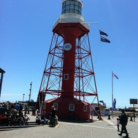 Photo taken at Port Adelaide Lighthouse by Lynn A. on 11/18/2012