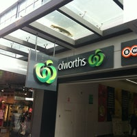 Photo taken at Woolworths by Lynn A. on 2/6/2013