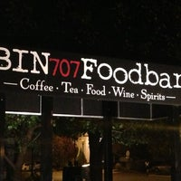 Photo taken at Bin 707 Foodbar by Joshua S. on 10/3/2012