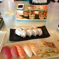 Photo taken at Sushi by H by Polly G. on 3/30/2013