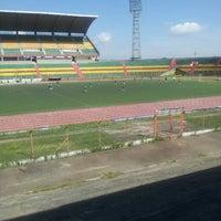 Photo taken at Estadio Alfonso López by Cristian on 7/13/2013