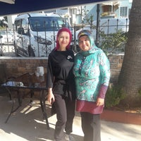 Photo taken at Mediterranean Resort Hotel by Nahide Y. on 9/23/2018