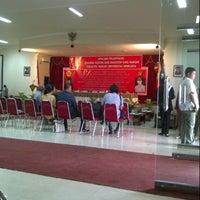 Photo taken at Pasca Sarjana UNSRI by Soraya A. on 12/26/2012