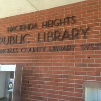 Photo taken at County of Los Angeles Public Library - Hacienda Heights by Ronald Chino C. on 7/29/2015