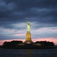 Photo taken at Statue of Liberty by Dylan M. on 7/28/2013