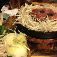 Photo taken at さっぽろ ジンギスカン 金の羊 by Toshihiko I. on 1/26/2013