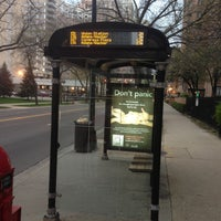 Photo taken at CTA Bus Stop 1037 by Brad H. on 5/6/2013