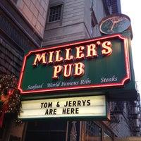 Photo taken at Miller's Pub by Ryan S. on 12/25/2012
