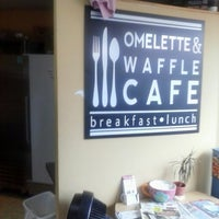 Photo taken at Omelette & Waffle Café by Seth on 6/9/2013
