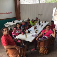 Photo taken at Birrieria San Miguel Cuyutlan by Eduardo F. on 11/6/2016