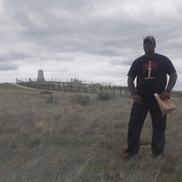 Photo taken at Little Bighorn Battlefield National Monument by Kelly V. on 4/29/2016