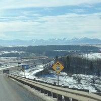Photo taken at Cochrane, Alberta by Dean O. on 2/1/2014