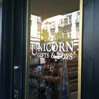 Photo taken at Unicorn Gifts & Toys by Julia B. on 6/22/2013