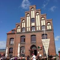 Photo taken at Hafen Wismar by Yvonne E. on 7/10/2013