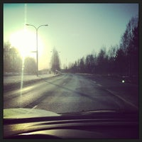 Photo taken at Oulu by molekyyli on 4/8/2013