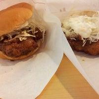 Photo taken at MOS Burger by Zhi Min C. on 9/19/2013