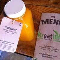Photo taken at Kreation Kafe by Liza M. on 2/17/2013