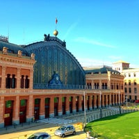 Photo taken at Madrid-Puerta de Atocha Railway Station by Daniel N. on 7/23/2013