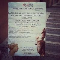 Photo taken at Istituto Superiore Di Studi Musicali G. B. Pergolesi by Giulio S. on 9/29/2012