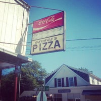 Photo taken at George's Pizza by JP F. on 8/28/2014