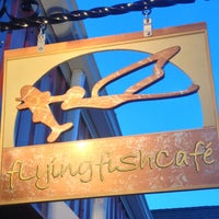 Photo taken at The Flying Fish Café & Sushi Bar by Chris P. on 9/15/2013