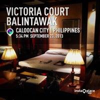 Photo taken at Victoria Court Balintawak by Omar P. on 9/23/2013
