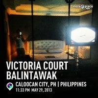 Photo taken at Victoria Court Balintawak by Omar P. on 5/29/2013