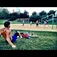 Photo taken at Piedmont Park Active Oval by David Orland B. on 10/17/2012