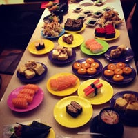 Photo taken at Hei Sushi by Hairiani P. on 10/31/2012