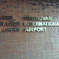 Photo taken at Tribhuvan International Airport (KTM) by Sachin J. on 3/5/2013