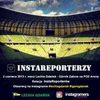 Photo taken at Stadion Energa Gdańsk by Igers G. on 5/31/2013