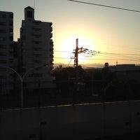 Photo taken at 丹波口駅 (Tambaguchi Sta.) by Takayuki I. on 10/20/2012