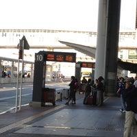 Photo taken at 第1ターミナル 5番バスのりば by Takayuki I. on 5/6/2013