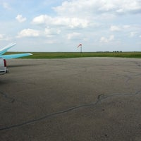 Photo taken at Ashley Municipal Airport by Mark R. on 7/1/2013