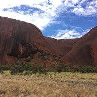 Photo taken at Uluru by Michiel E. on 3/10/2017