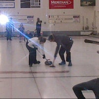 Photo taken at Winkler Curling Club by Christine E. on 11/17/2012