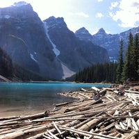 Photo taken at Moraine Lake by Bogdan K. on 10/23/2012