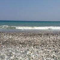 Photo taken at Velika Beach by George Z. on 8/17/2013