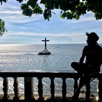Photo taken at Sunken Cemetery Cross by Bugz G. on 10/1/2017
